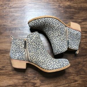 Lucky Brand Cheetah Booties